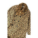 R.M GANG /LEOPARD FUR LONG TRENCH