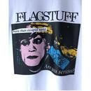 """F-LAGSTUF-F /  """" Serious Tee """"  (white)"""