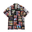 WACKO MARIA / HIGHTIMES x WACKOMARIA HAWAIIAN SHIRT (type-1) (black)