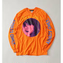 ZATUON x 川崎あや / adults tee (orange)