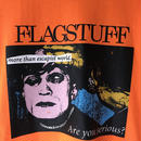 "F-LAGSTUF-F /  "" Serious Tee ""  (orange)"