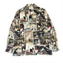 WACKO MARIA /   L/S HAWAIIAN SHIRTS  (color)