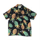 "WACKO MARIA / ""PINEAPPLE"" S/S HAWAIIAN SHIRT (black)"