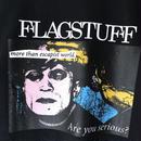 "F-LAGSTUF-F /  "" Serious Tee ""  (black)"