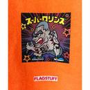 """F-LAGSTUF-F /  """" Super Rollins """" Tee   (orange)"""