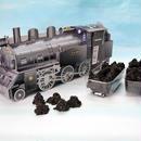 【明知鉄道公認】石炭クッキー搭載!実物1/45でリアルに再現『明知鉄道SLクッキー』(45g×2袋入)