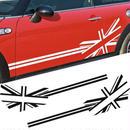ミニクーパー ステッカー デカール ドアサイド ユニオンジャック R50 R53 F55 F56 R52 R56 R57 R58 R59 R60 R61