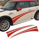 【送料無料!】ミニクーパー ステッカー ドアサイド ストライプ デカール R50 R52 R53 R56 R57 R58 R59 R60 F55 F56 R61【新品】