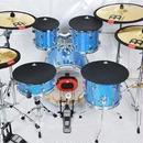 ドラム練習 騒音防止ドラムパッド 10、12、13、14、16インチ シンバル バス ミュートセット バンド練習
