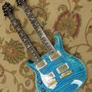 ダブルネックエレキギター 12弦+6弦 ハイクオリティー 海外ノーブランド マホガニー 22フレット【左利き用/ハードケース付】