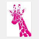 ポストカード Giraffe 封筒付き
