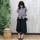 BASIC WIDE PANTS black