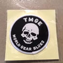 TMGE   WORLD GEAR BLUES   Patch  2pcs
