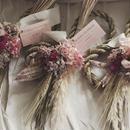 お正月〆縄 natural pink
