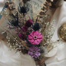 purple ash bouquet