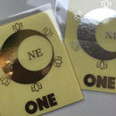 Sticker  Gold/Silver