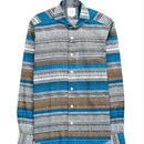 FEEL EASY ORIGINAL トライバルプリントシャツ(Multi)