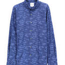 FEEL EASY ORIGINAL ブルーカモフラージュシャツ(Blue)