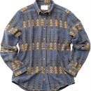 PORTUGUESE Flannel Flannel Shirt(CHARCOAL TRIANGLE)