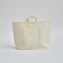 "StitchandSew / tote bag  ""white"" ( LARGE )"