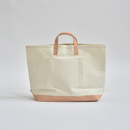 "StitchandSew / tote bag white ""natural"" ( LARGE )"