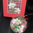 Fringe Studio Ornament Plaid Lily