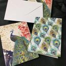 Fringe Studio Cards&Envelopes Peacock