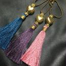 Heart&Tassel Keychain