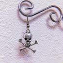 Skull And Crossbones Earring