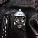 Broken Bones Metal Badge-B