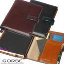 GORBEイタリアンレザーカラーエッジノートカバー/手帳カバー/A5