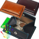 GORBEイタリアンレザーカードが入るボックスコインケース