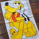 70s 80s ヴィンテージ ディズニー プルート 枕カバー