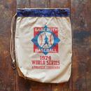 70s ヴィンテージ スーベニア バッグ ベースボール柄