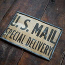US MAILヴィンテージサイン