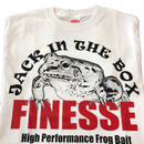 2019 FINESSEフロントフロッグTシャツ