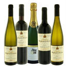 ドイツワインセット 赤ワイン2本と白ワイン2本とスパークリング 5本飲み比べセット