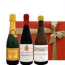 【ハーフボトル 3本セット】フランスのスパークリング・ 白ワイン・ 赤ワイン 3本セット