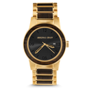 The Barrel 42mm - Brushed Gold/Ebony
