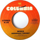 Wings ‎– Goodnight Tonight / Daytime Nightime Suffering