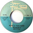 Moments, The ‎– What's Your Name / Mama I Miss You