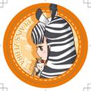 けものフレンズカフェ 旧缶バッジ(サバンナシマウマ)