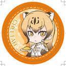 けものフレンズカフェ 旧缶バッジ(チーター)