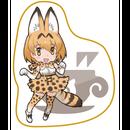 けものフレンズカフェ ハンドタオル(サーバル)