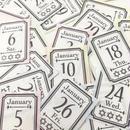 【PDF】osso日付シート 2018年1月 フレームチケットタイプ