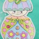 【PoPun.P】ステッカー&しおり マトリョーシカ  S48-0174