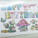【PoPun.P】miniHAPPYBIRTHDAYカード S48-0217