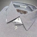 新品 Complet par MEN'S MELROSE(メンズメルローズ)千鳥格子柄 長袖シャツ【サイズ:2:襟37cm 袖83cm】