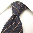 シックなグレー系ネクタイ|MEN'S K|NSN扱い|ストライプネクタイ|USED|0302