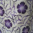 【浴衣】トールサイズ 紫系撫子柄浴衣